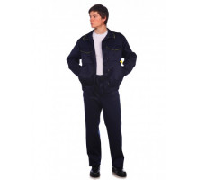 Костюм рабочий Докер - 1с брюками (темно-синий)