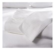 Постельное белье для гостиниц из Сатина-страйп (полоса 0,5х0,5)