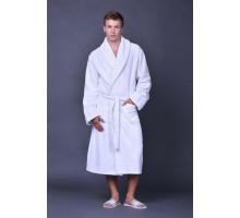 Махровый халат белый 430 г/м2