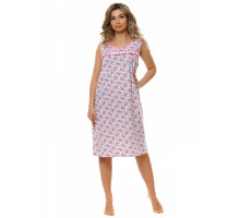 0015 Ночная сорочка (Розовый, синий) (Svt)
