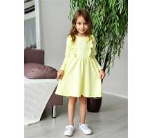 Детское платье Олененок (желтый)