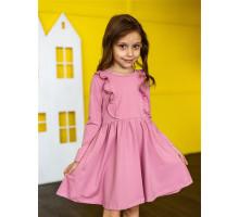 Детское платье Олененок (розовый)