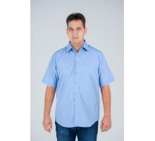 """Рубашка """"Premium"""" голубая №6"""