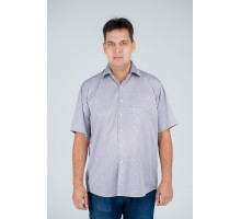 """Рубашка """"Premium"""" серая ребристая №8"""