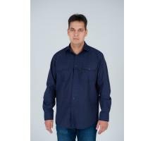 """Рубашка """"Premium"""" синяя №2"""