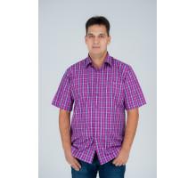 """Рубашка """"Premium"""" светло-сиреневая  №3"""