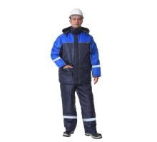 "Зимний костюм ""Балтика"" с СОП (синий)"